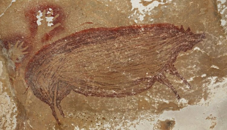 Pig Painting May Be World's Oldest Cave Art Yet, Archaeologists