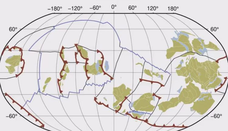 Watch This Billion-Year Journey of Earth's Tectonic Plates