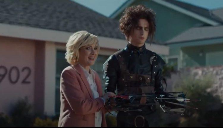 Cadillac reboots 'Edward Scissorhands' with Winona Ryder