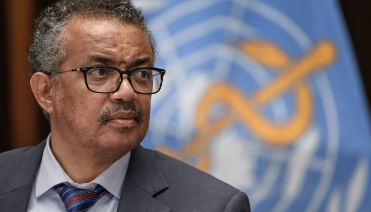 WHO chief warns infection rate approaching highest level so far