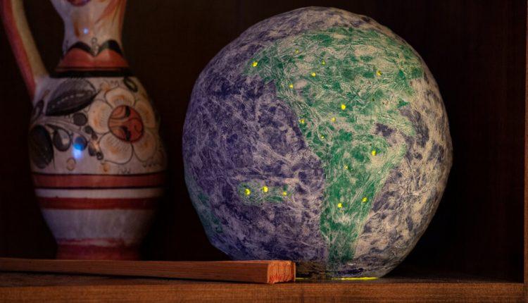 Papier-Mache Globe – The New York Times